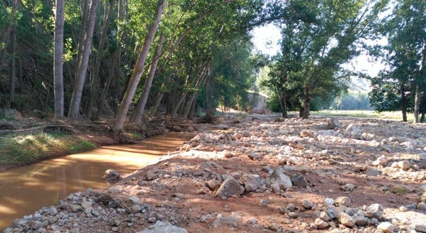 CHJ continúa desarrollando programa mantenimiento y conservación cauces Teruel