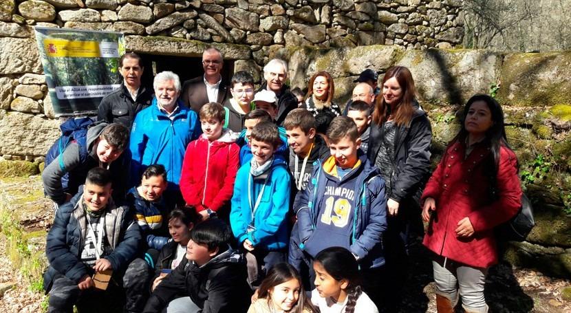 CEIP Virxe Covadonga participa actos Día Mundial Agua organizado CHMS