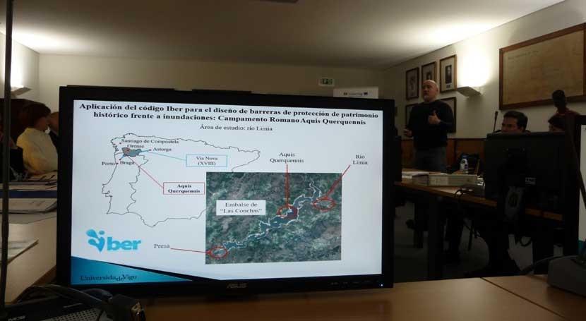 """CHMS reúne al Comité Gestión proyecto europeo """"Risc Miño-Limia"""""""