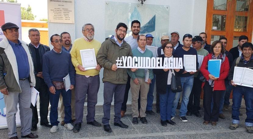 Regantes Choapa (Chile) recibieron más $530 millones bonificaciones obras riego