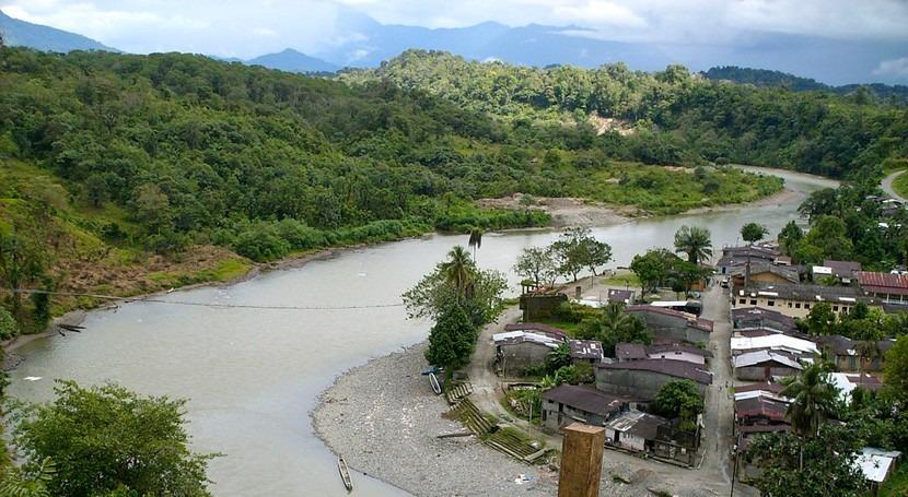 inundaciones departamento colombiano Chocó dejan miles afectados
