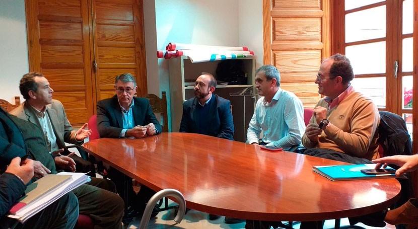 presidente CHS visita Abanilla estudiar obras emergencia DANA