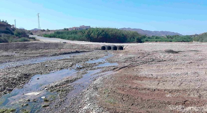 Confederación Hidrográfica Segura mejorará capacidad hidráulica 4 ramblas Almería
