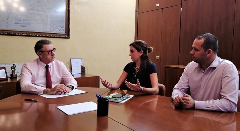 CHS se reúne alcaldesa Archena analizar efectos pasada gota fría