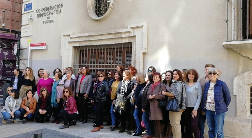 trabajadoras CHS celebran Día Internacional Mujer