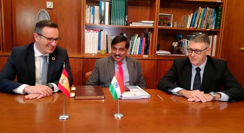 delegación India visita cuenca Segura conocer gestión hídrica