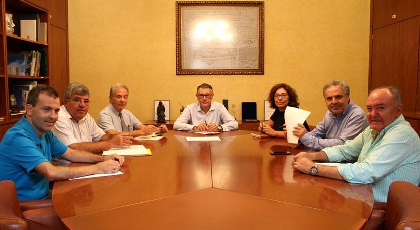 Presidente Confederación Hidrográfica Segura renueva Consejo Dirección