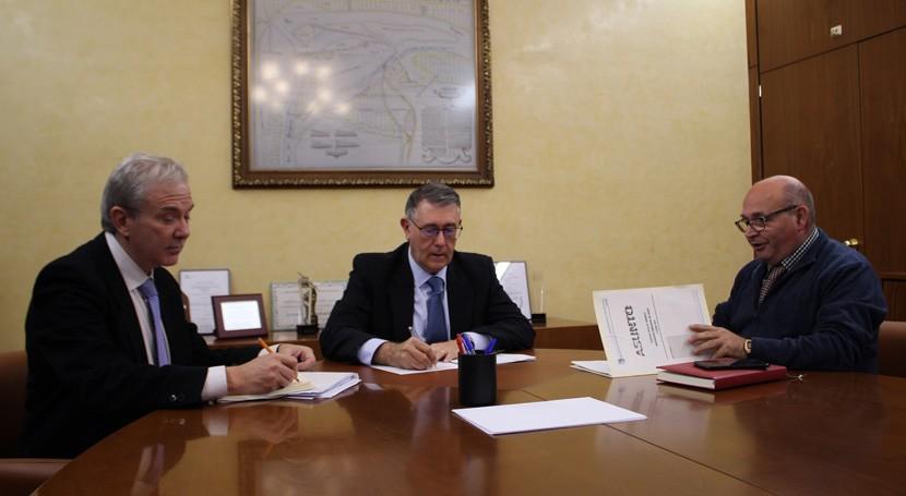Mario Urrea analiza alcalde Socovos acondicionamiento y limpieza cauces