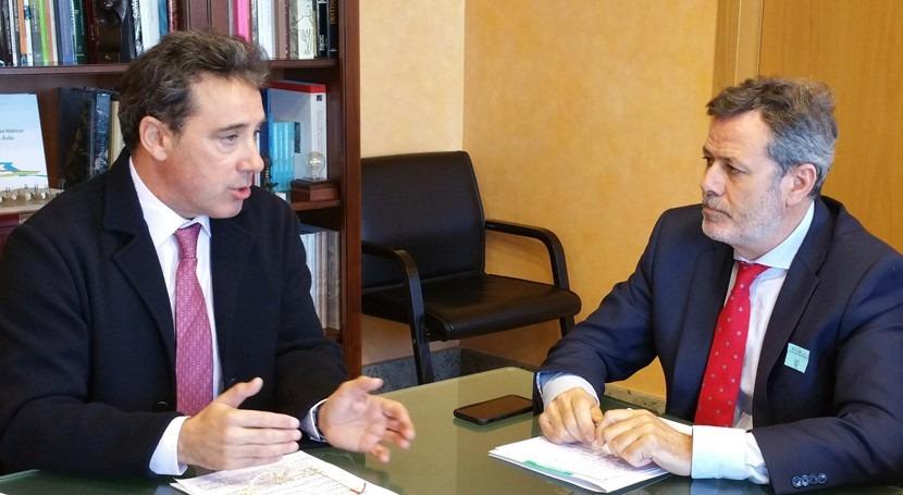 CHT se reúne Gobierno extremeño dentro marco Pacto Nacional Agua