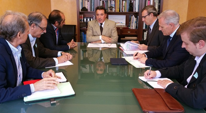 CHT se reúne representantes FERTAJO marco Pacto Nacional Agua