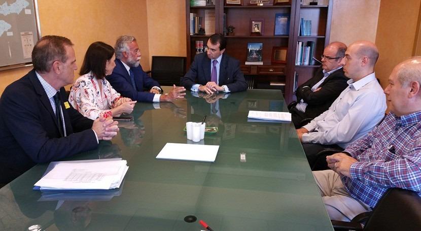 desarrollo suelo industrial Talavera Reina centra reunión CHT