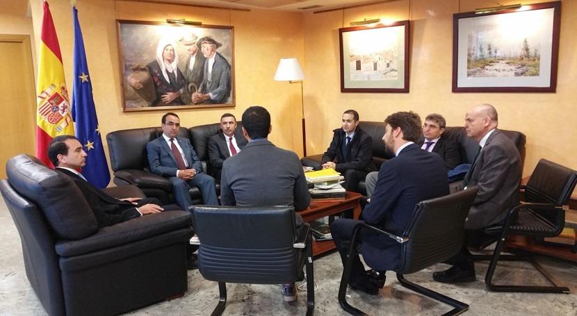 Turquía visita Confederación Tajo marco adaptación planes cuenca