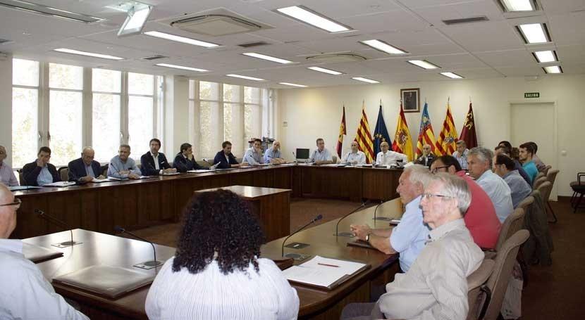CHJ celebra Comisiones Desembalse Otoño correspondientes al año hidrológico 2018-2019