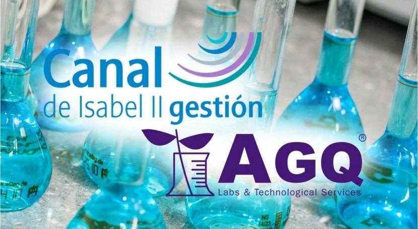 AGQ Labs realizará estudios alcantarillado y vertidos Canal Isabel II Madrid