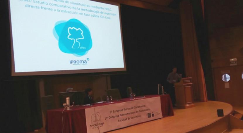 Iproma presenta últimos avances detección cianotoxinas