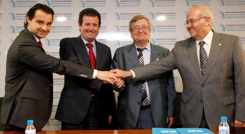 """José Císcar: """" consenso debe marcar regulación uso agua"""""""