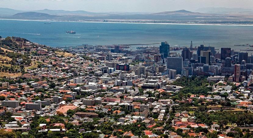 Desastre nacional Sudáfrica debido sequía