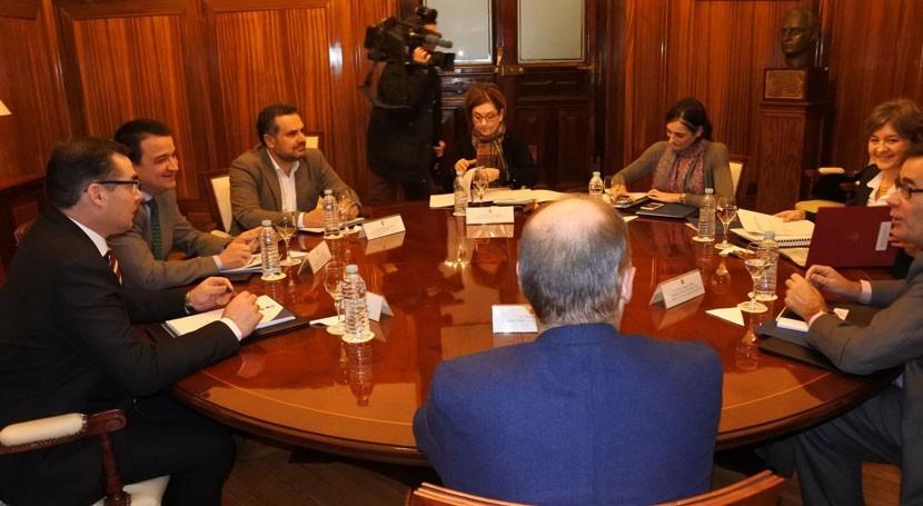 Castilla- Mancha traslada al Gobierno Central necesidades materia agua