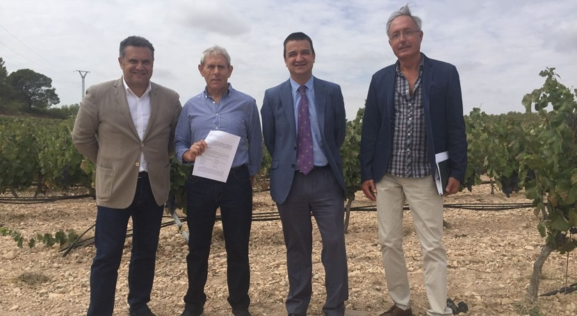 agricultores Castilla- Mancha también sufren sequía