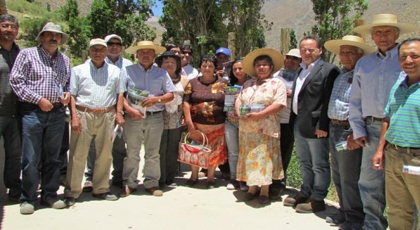 Comisión Nacional de Riego se reúne con pequeños regantes de Tulahuén
