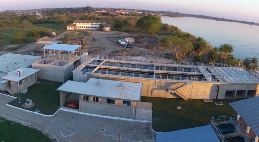 Paraguay tiene como meta aumentar al 50% cobertura saneamiento 2018