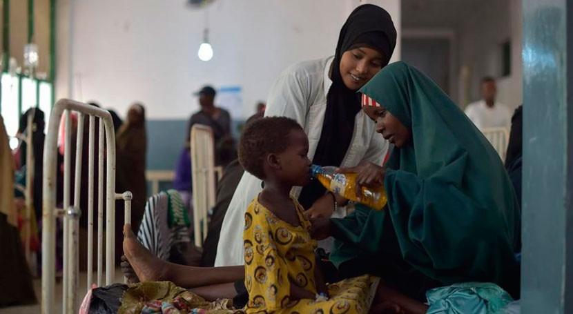 muertos cólera Somalia podrían duplicarse durante próximos meses