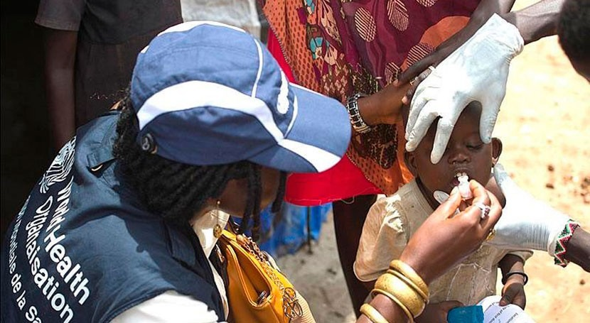 Medio millón vacunas ayudarán lucha cólera Sudán Sur