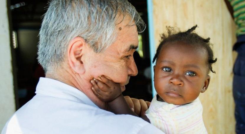 Pedro Medrano en Haití (ONU).
