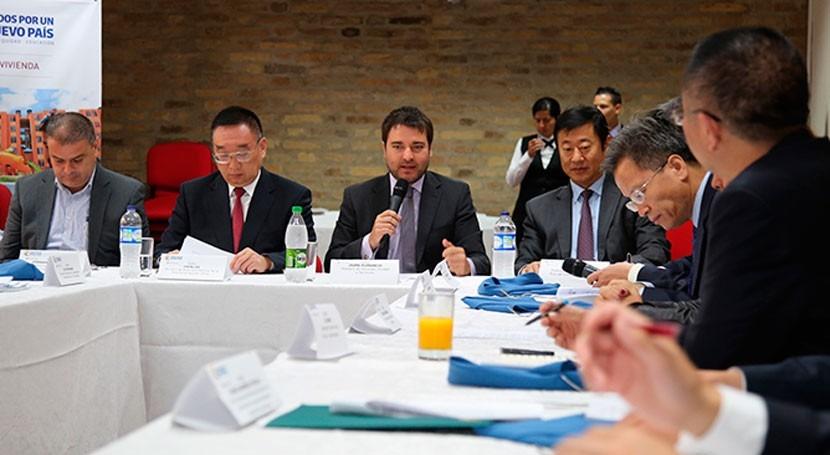 Colombia y China buscan convertirse aliados materia agua potable y saneamiento básico
