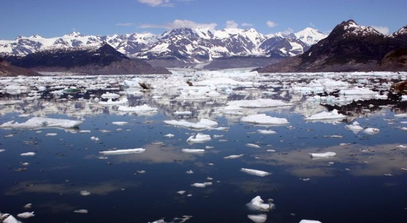 Glaciar Columbia en Alaska (Wikipedia/CC)