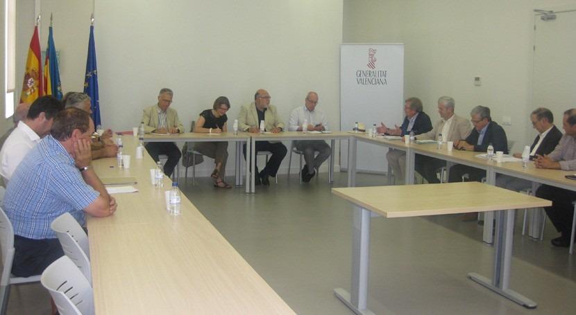 Acuerdo crear comisión trabajo necesidades hídricas agricultura valenciana