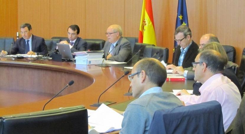 Momento de la Comisión de desembalse