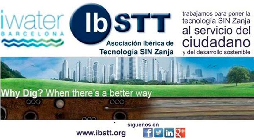Asociación Ibérica Tecnología Zanja IBSTT forma parte Comité Organizador iWater