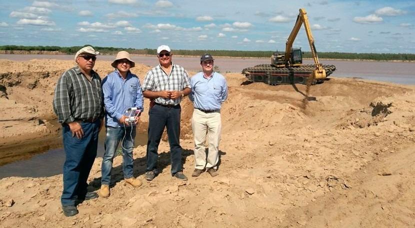 trabajos río Pilcomayo han permitido que aguas fluyan 300 km