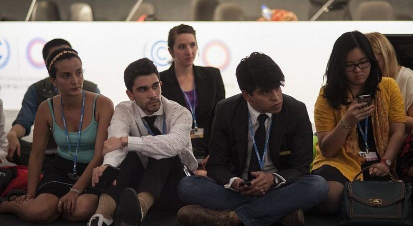 compromiso jóvenes, crucial acción climática