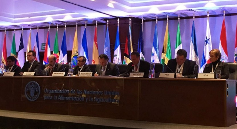 Destacada presencia IMTA Conferencia Regional FAO América Latina y Caribe