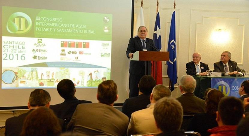 Chile inaugura Segundo Congreso Interamericano Agua Potable y Saneamiento Rural