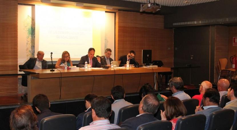 Consejo Agua Demarcación informa favorablemente Plan Hidrológico Guadalquivir