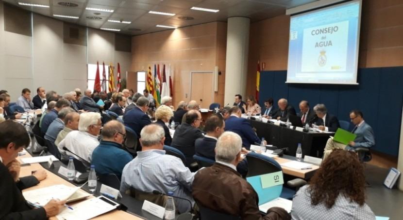 Consejo Agua informa nuevo Plan Especial Sequía Demarcación Ebro