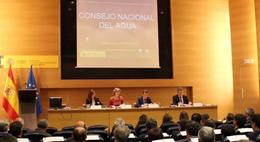 Consejo Nacional Agua da luz verde al segundo ciclo planificación hidrológica