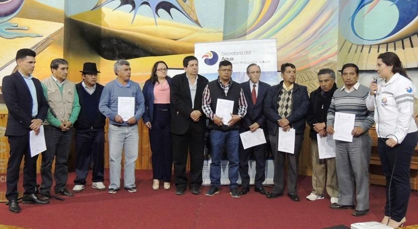 Consejos Cuenca Ecuador, compromiso recurso hídrico