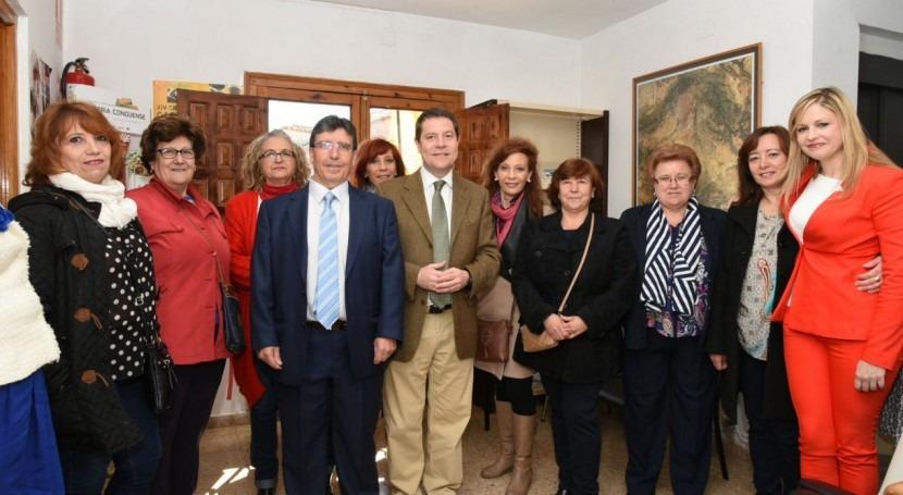 García Page pide consenso político, institucional, empresarial y vecinal defender agua