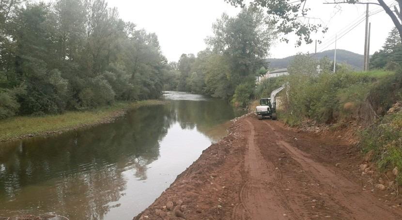 CHC acomete reparación márgenes río Pas paso Vioño