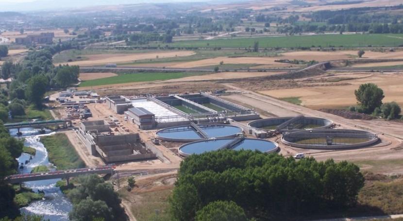 Licitada mejora conexión línea fangos EDAR Burgos