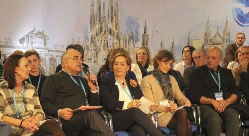 Alberto Garre en la Convención del PP