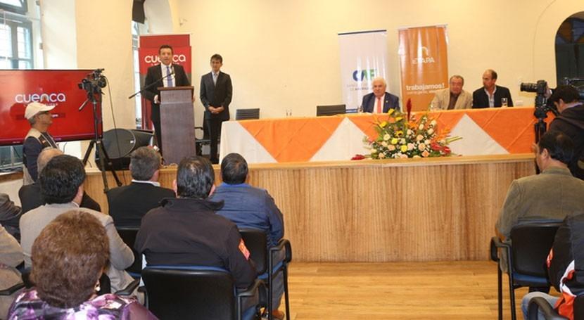 nuevo convenio permitirá mejorar acceso al agua 54 comunidades Cuenca, Ecuador