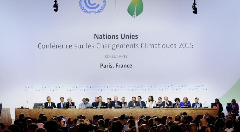 Acuerdo histórico hacer frente al cambio climático