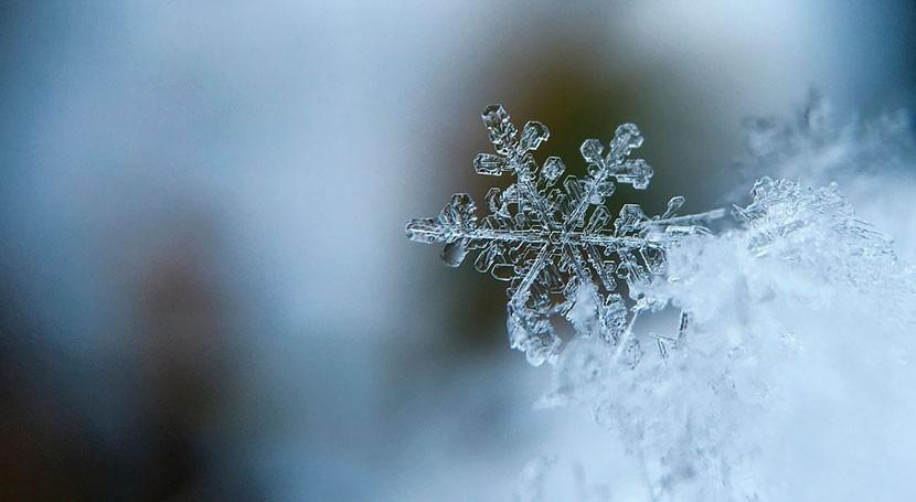 Descifrada forma geométrica copo nieve