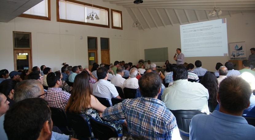 Chile y Coquimbo acuerdan procedimiento trabajar reforma al Código Aguas