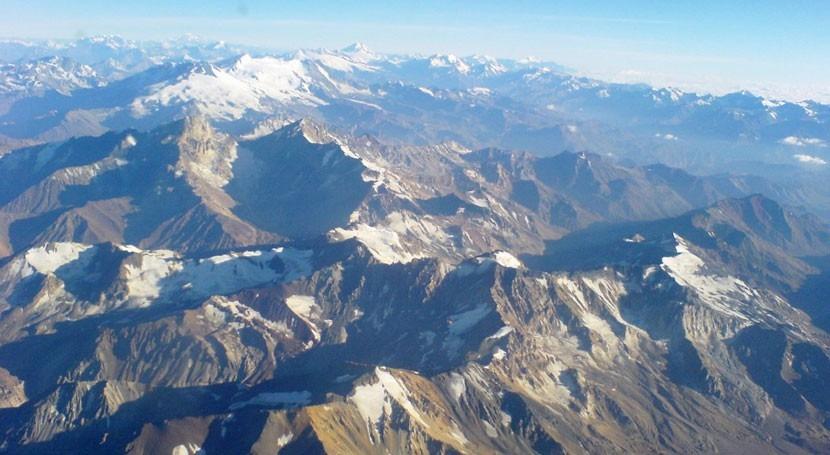 estudio, nieve cordillera Andes se reduce 10% cada década